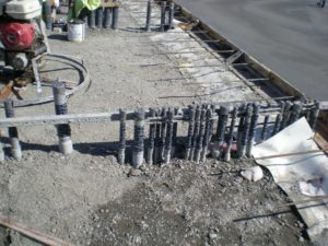 New Underground Conduits In New Warehouse Building