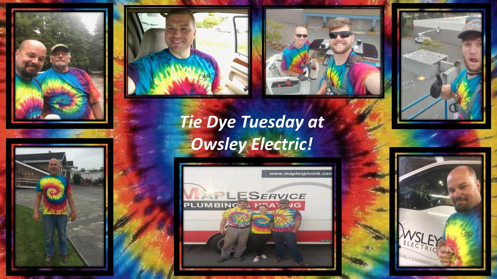 Workable Owsley Electric Tie Dye Tuesday