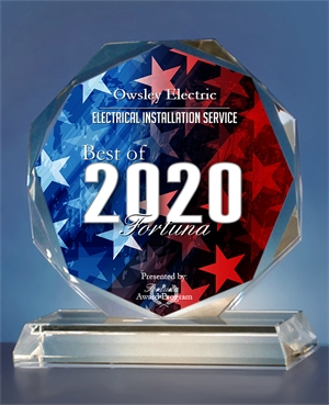 2020 Best of Fortuna Crystal Award